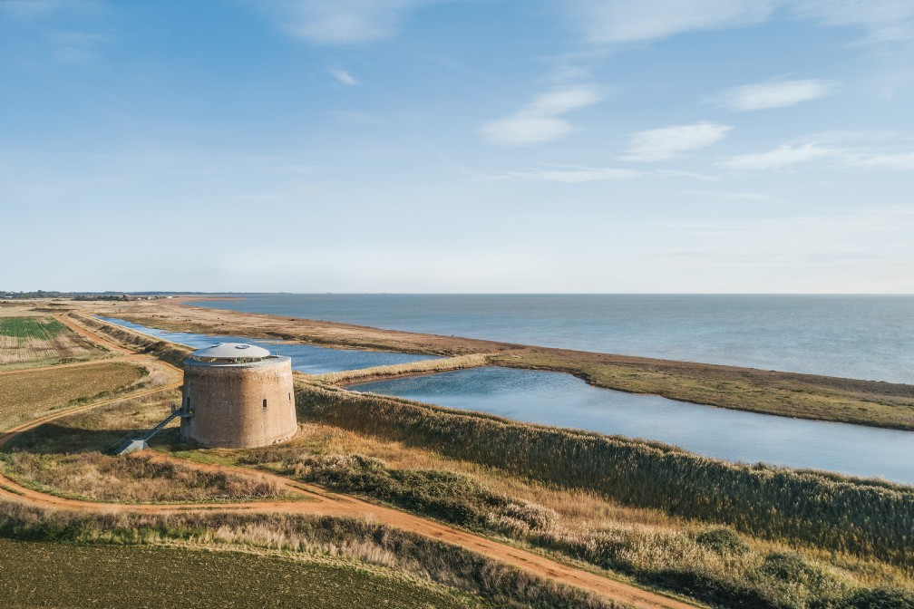 Found Tower | Luxury Self-Catering Martello Tower | Bawdsey, Woodbridge